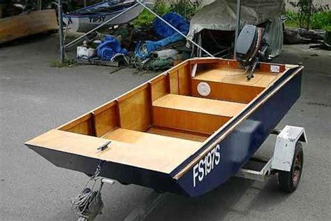 Lightweight Wooden Boat Plans by Motor Boat Plans Fyne Boat Kits