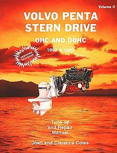Volvo Penta Stern Drive Ohc  Dohc Repair Manual 1992