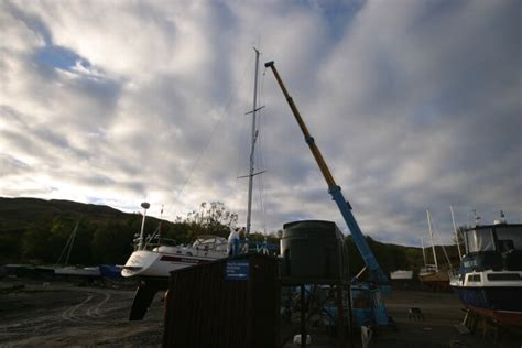 Motor Boats For Sale West Coast Scotland by Boat Yard Winter Storage For Sale In Kilmelford By Oban