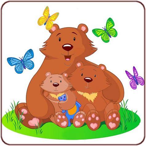 chambre barbapapa dessin en couleurs à imprimer animaux ours numéro 352168