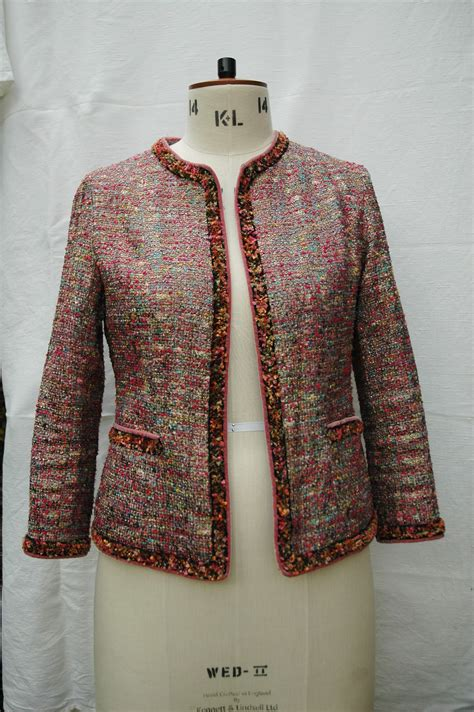 chanel style boucle jacket sewing projects burdastylecom