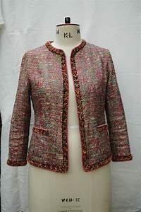 chanel style boucle jacket sewing projects burdastyle