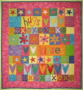 You have to see Project Cupid Hugs & Kisses Quilt by