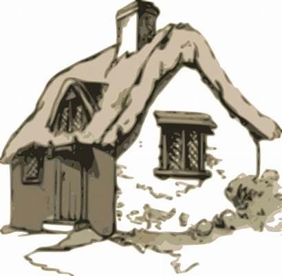 Clipart Cottage Thatch Transparent Cabin Webstockreview Medium
