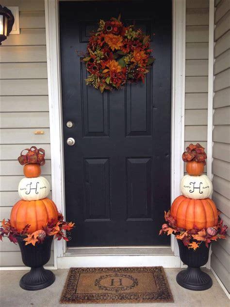 fall front door decor ideas  designs