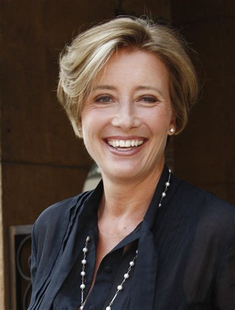 emma thompson short hairstyle hairstylegalleries com