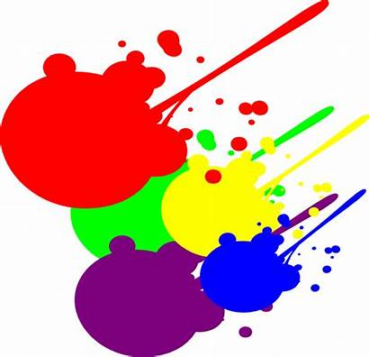 Paint Splatter Clip Clipart Vector Clker