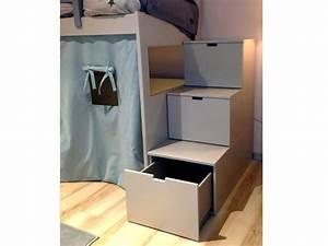 Lit Superposé Escalier : lits superpos s attis ~ Premium-room.com Idées de Décoration