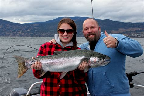rodneys reel outdoors okanagan lake fishing charters