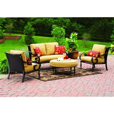 englewood conversation set replacement cushion retail