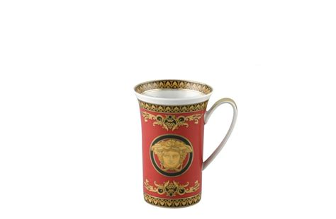 medusa red mug chocolate versace home australia