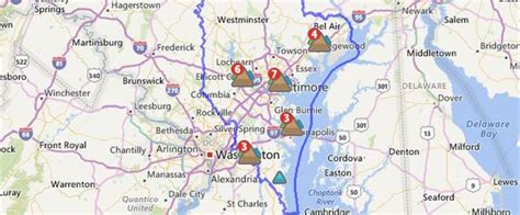 current outages baltimore gas  electric company