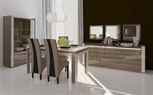 Salle a manger design modernite et convivialite for Salle À manger contemporaineavec meuble salle manger moderne