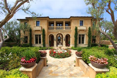 Italian Style House Plans  Mediterranean Refinement