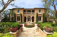 mediterranean style homes Italian style house plans - Mediterranean refinement