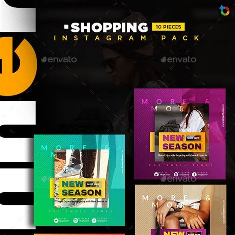 fashion sale instagram templates graphic