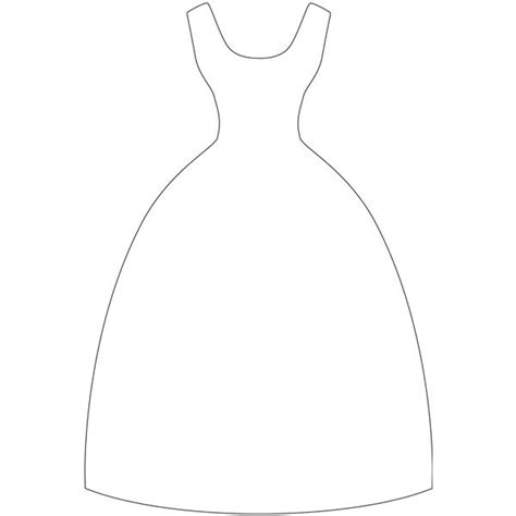 dress template dress outline template www imgkid the image kid has it