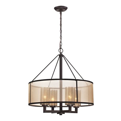 24 inch drum l shade for chandelier shop westmore lighting sandbar 24 in 4 light oil rubbed