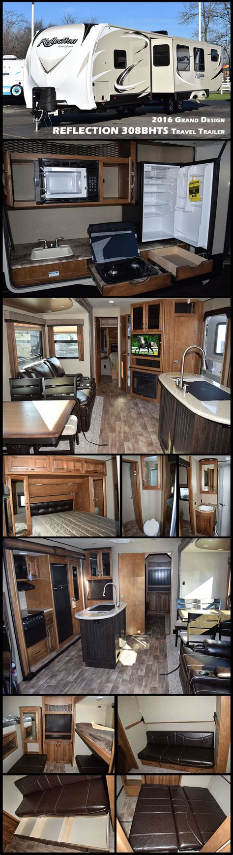 this 2016 grand design reflection 308bhts travel trailer