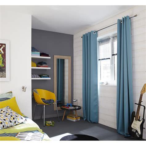 rideau chambre gar輟n bleu rideau blackout bleu baltique n 176 4 l 140 x h 260 cm