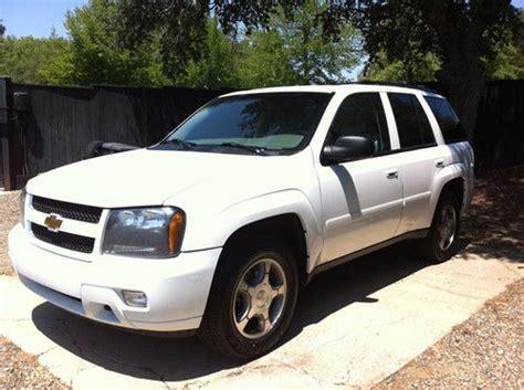 Sell Used 2009 Chevrolet Trailblazer 4wd In Granite Bay