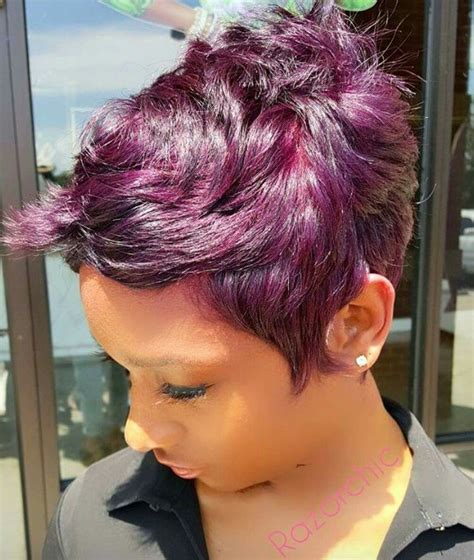 Homecoming Hairstyles For Pixie Cuts by Pin By Tanieka Faulkner On Hair In 2019 Cortes De
