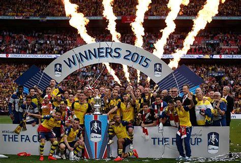 Arsenal Defeat Aston Villa to Win FA Cup   Photo Gallery