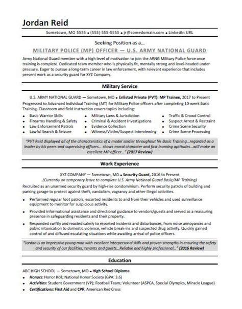 military resume military civil engineer sample