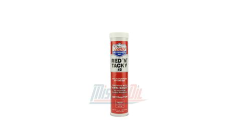 Lucas Oil Red N Tacky Grease Nlgi 2 Cartouche (10005