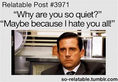 Relatable Quiet Office Fanpop Funny Gifs Random