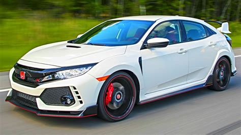 Honda Civic Type R 2018 by 2018 Honda Civic Type R Interior Exterior And Drive