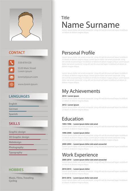 Cv Free by Blank Resume Forms Free Printable Resume Templates