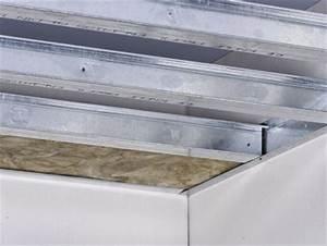 Faux Plafond Autoportant : knauf freitragende decken ~ Nature-et-papiers.com Idées de Décoration