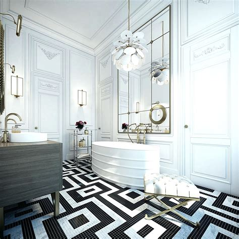 bathroom tiles black and white ideas creative tile flooring patterns hex black and white