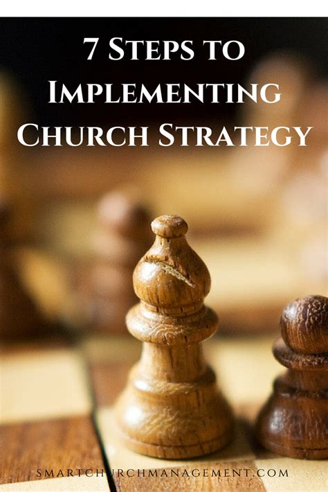 7 Steps To Implementing Church Strategy