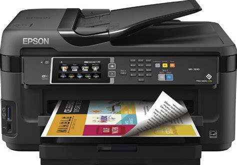 Epson - WorkForce WF-7610 Network-Ready Wide-Format