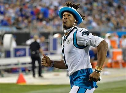 Cam Newton Handed Catches Minute Most Record
