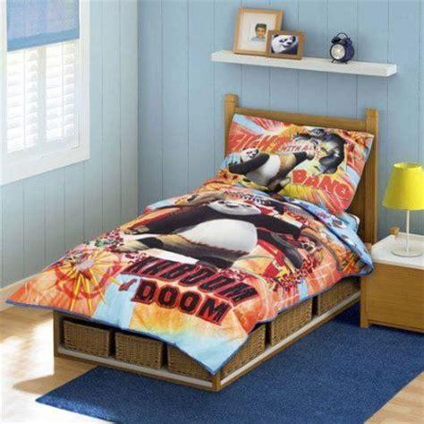 kung fu panda bedding  bedroom decor bedroom theme