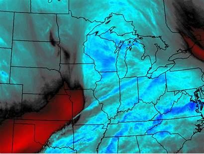 Vapor Water December Loop Goes Measurable Snowfall