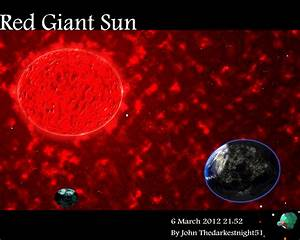 Red Giant Sun by TheDarkestNight51 on DeviantArt