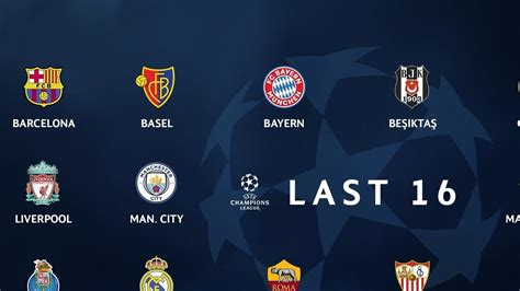 Who is in the Champions League round of 16? | UEFA ...