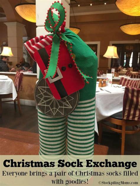 christmas gift ideas with socks sock exchange