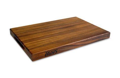John Boos Walnut Edge Grain Cutting Board, 18 x 12 x 1.5