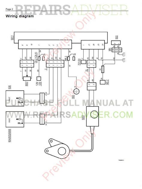 volvo trucks fl7 fl10 fl12 wiring diagram service manual pdf