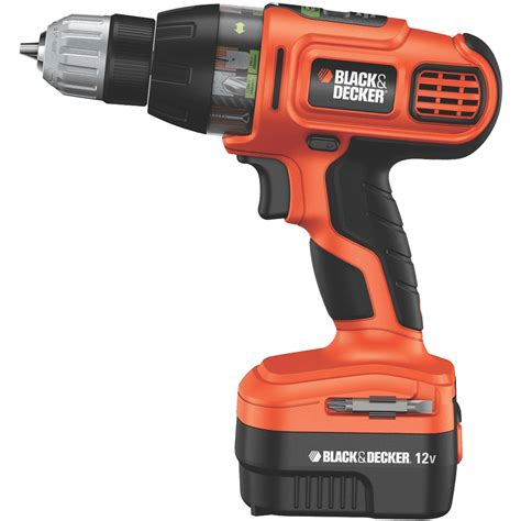 Black And Decker Epc12k2 12volts Cordless Drill (orange