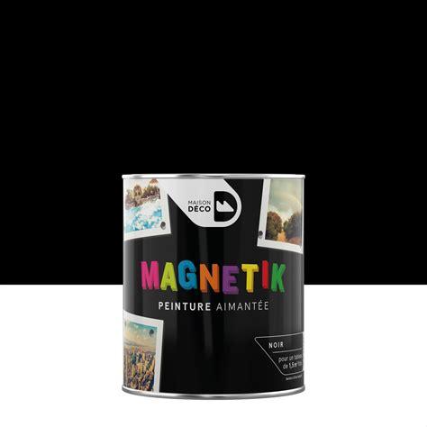 peinture magn 233 tique noir maison deco magn 233 tik c est g 233 nial 0 5 l leroy merlin