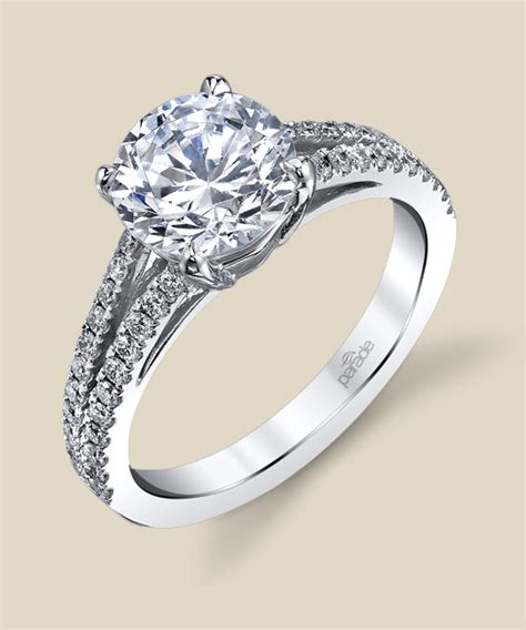 lyria bridal r2771 parade design designer engagement rings