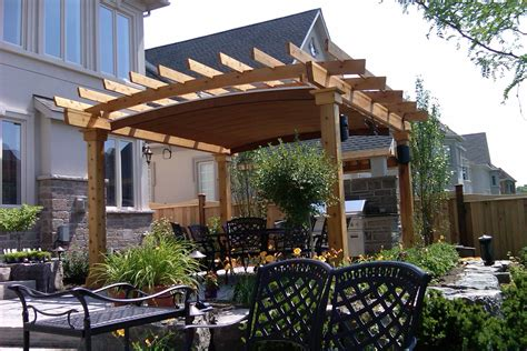 arched canopy  oakville shadefx canopies