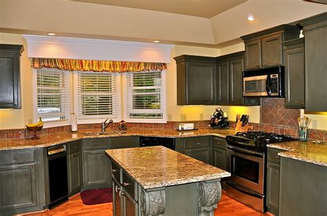 Kitchen Designs Dream Kitchen With Black Cabinets, Wheel