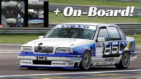 volvo  btcc  rydell  actions exclusive